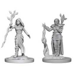 Nolzur's Marvelous Miniatures (unpainted): Human Female Druid