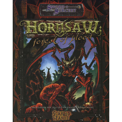 Scarred Lands: Hornsaw: Forest of Blood