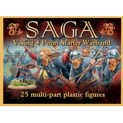 Saga Plastic Viking Starter Warband (4 points)