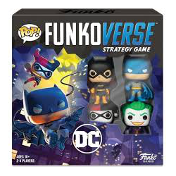 Funkoverse Strategy Game: DC 4-Pack (eng. regler)