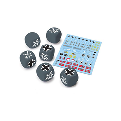 World of Tanks Miniature Game: German Dice and Decals