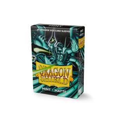 Dragon Shield Sleeves - Japanese Size Matte Mint (60 ct. in box)