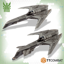 UCM Archangel Interceptors / Tactical Bomber