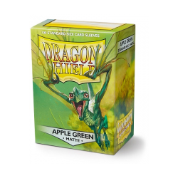 Dragon Shield Sleeves - Standard Matte Apple Green (100 ct. in box)