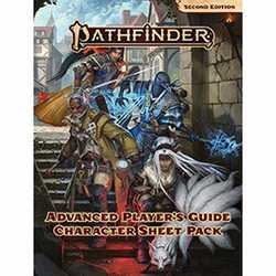 Pathfinder RPG: Advanced Player's Guide Character Sheet Pack