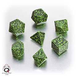 Forest Dice Set (Green and Black)