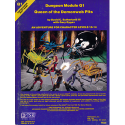 AD&D: Q1, Queen of the Demonweb Pits (1980)