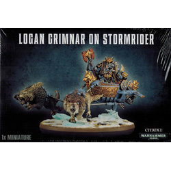 Space Wolves Logan Grimnar on Stormrider