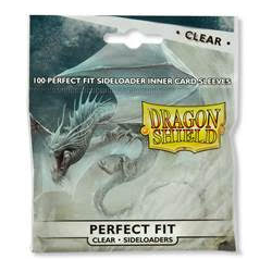 Dragon Shield Sleeves - Perfect Fit Sideloaders Clear (100)