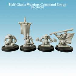 Half-Giant Warriors Command Group (4)