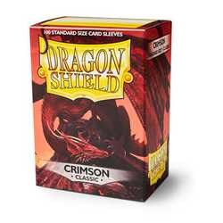 Dragon Shield Sleeves - Standard Crimson (100 ct. in box)