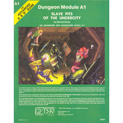 AD&D: A1, Slave Pits of the Undercity (1980)