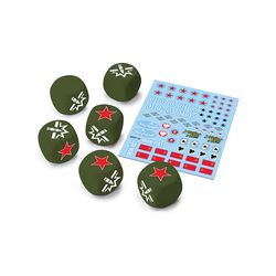World of Tanks Miniature Game: U.S.S.R. Dice and Decals