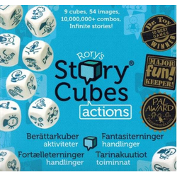 Rory's Story Cubes: Actions (sv. regler)