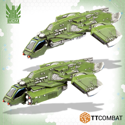 UCM Titania Falcon Gunships