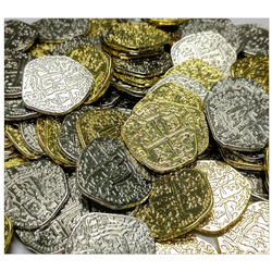Empires: Age of Discovery: Metal Coins (100 st)
