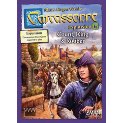 Carcassonne: Count, King & Robber (eng. regler)