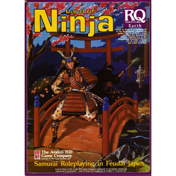 Runequest, 3d Ed: Land of Ninja, Box, 1986
