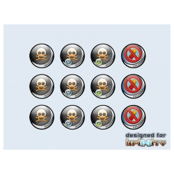 Infinity Tokens Deployables, 2 (12)