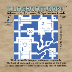DungeonMorph Cards:  Adventurer, Explorer, and Spellunker