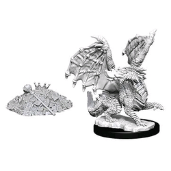 Nolzur's Marvelous Miniatures (unpainted): Red Dragon Wyrmling