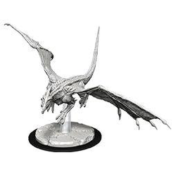 Nolzur's Marvelous Miniatures (unpainted): Young White Dragon