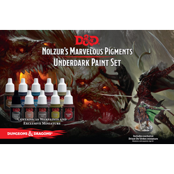 Nolzur's Marvelous Pigments - Underdark Paint Set