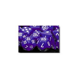 Opaque: Purple/white (7-Die set)