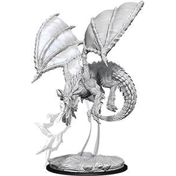 Nolzur's Marvelous Miniatures (unpainted): Young Blue Dragon