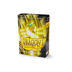 Dragon Shield Sleeves - Japanese Size Matte Yellow (60 ct. in box)