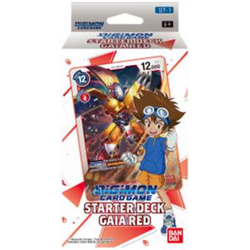 Digimon TCG: Starter Deck- Gaia Red (ST-1)