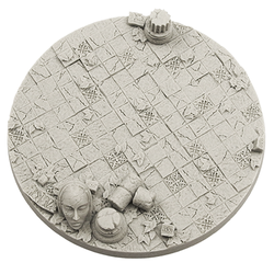 Ancient Bases, Round 100mm (1)