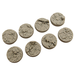 Ancient Bases, Round 32mm (4)