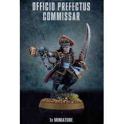 Astra Militarum Officio Prefectus Commissar