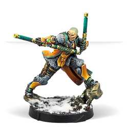 Yu Jing - Shaolin Warrior Monk