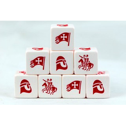Saga Christian Faction Dice