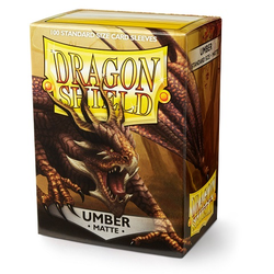 Dragon Shield Sleeves - Standard Matte Umber (100 ct. in box)