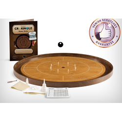 Crokinole Tournament Set (beech/walnut)
