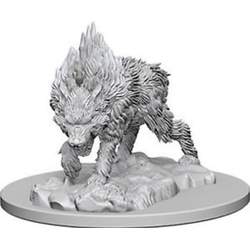 Pathfinder Deep Cuts (unpainted): Dire Wolf