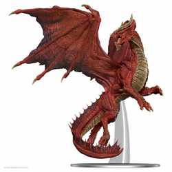 Icons of the Realms Premium Figures: Adult Red Dragon