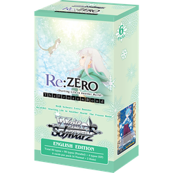 Weiβ Schwarz: Re:ZERO - Starting Life in Another World - The Frozen Bond Booster Display (6 booster packs)