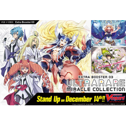 Cardfight!! Vanguard: Ultrarare Miracle Collection Display (12 booster packs)