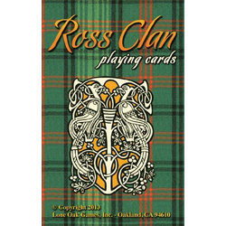 Haggis: Ross Clan Playing Cards