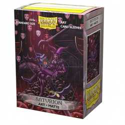 "Dragon Shield Sleeves - Standard Art Sleeves ""Saturion: Portrait"" (100 ct. in box)"