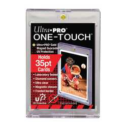 "Ultra Pro One Touch Cardholder 35pt with Magnetic Closure 3"" x 4"" (1)"