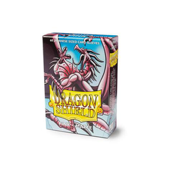 Dragon Shield Sleeves - Japanese Size Matte Pink (60 ct. in box)