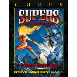 GURPS: Supers 2nd ed