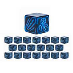 Cthulhu Wars: Battle Dice Blue (20)