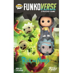 Funkoverse Strategy Game: Rick and Morty 2-Pack (eng. regler)