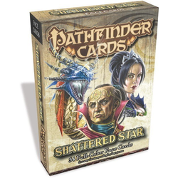 Pathfinder Face Cards: Shattered Star